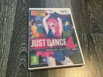 Just Dance 4 Special Edition(Komplett)