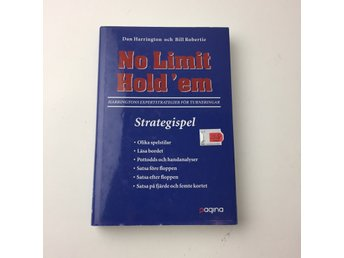 Bok, No limit hold 'em, Dan Harrington, Inbunden, ISBN: 9789163608988, 2006