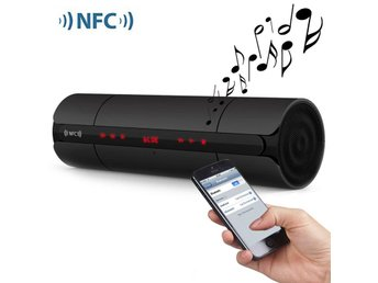 KR8800 Matte Wireless Bluetooth V3.0 LED Display Speaker with Light Sensitive To