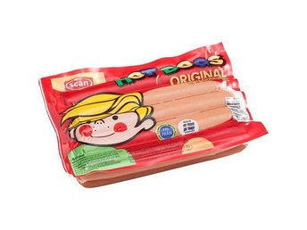 10 paket Scan hot dog. Sms-kuponger. Normalpris 180 kr