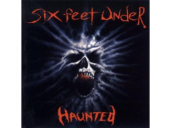 Six Feet Under-Haunted LP with poster Chris Barnes Death met - Motala - Six Feet Under-Haunted LP with poster Chris Barnes Death met - Motala