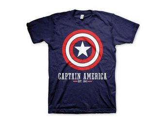 Captain America T-shirt Logo L