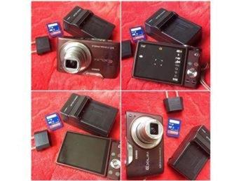 Casio Exilim EX-Z450 4XZoom 12.MP 4 GB Minnes kort+laddara - Katrineholm - Casio Exilim EX-Z450 4XZoom 12.MP 4 GB Minnes kort+laddara - Katrineholm