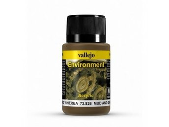 Vallejo 73826  Weathering Effects Mud and Grass Effect 40ml.