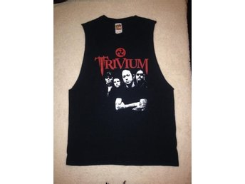 TRIVIUM fruit of the loom topp storlek M unisex rock hard rock metal