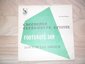 "CREEDENCE CLEARWATER REVIVAL - FORTUNATE SON / DOWN ON THE CORNER        ""NORSK"""
