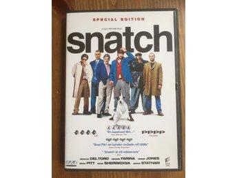 Snatch Guy Ritchie Brad Pitt DVD Mkt Bra Skick - Stockholm - Snatch Guy Ritchie Brad Pitt DVD Mkt Bra Skick - Stockholm