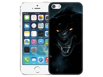 iPhone 5/5S/SE Skal Black Wolf
