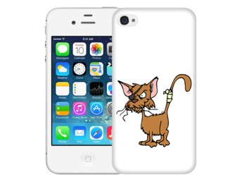 iPhone 4/4s Skal Skruttig Katt