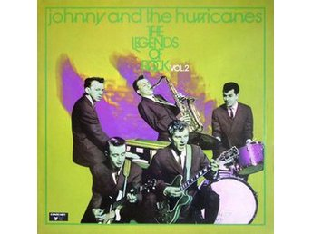 LP Johnny & The Hurricanes The legends of rock vol 2