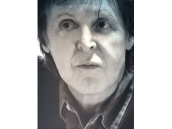 Paul Mc Cartney Jättefoto