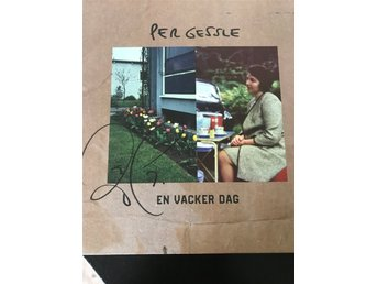 "Per Gessle ""En Vacker Dag"" Limited green vinyl signed copy"