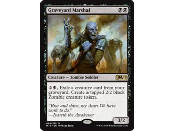 Graveyard Marshal - Core Set 2019 - NM/M - English