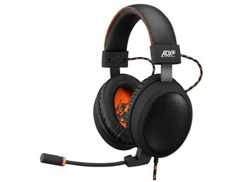 ADX Gaming Headset Firestorm H06 Svart/Orange / SteelSeries / Logitech / Razer