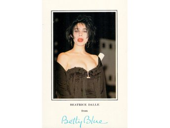Beatrice Dalle, Betty Blue, vykort