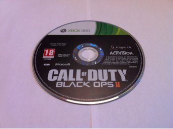 Xbox 360: Call of Duty: Black Ops II (2) (Enb. skivan)