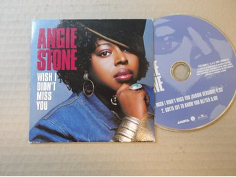 ANGIE STONE WISH I DIDN´T MISS YOU.