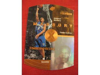 STEPHON MARBURY  - UD SPX 1997-98 - PARALLEL - MINNESOTA TIMBERWOLVES - BASKET