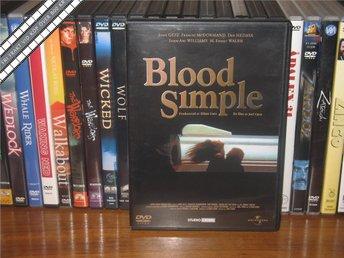 BLOOD SIMPLE - Bröderna Coens debut - Film noir *UTGÅNGEN DVD* - Svensk text - åmål - BLOOD SIMPLE - Bröderna Coens debut - Film noir *UTGÅNGEN DVD* - Svensk text - åmål