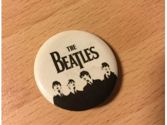 The Beatles pin, Bra skick! - Kristianstad - The Beatles pin, Bra skick! - Kristianstad