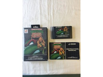 Tevespel - Megadrive - Turtles Tournament Fighters