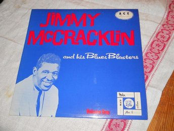 "JIMMY MCCRACKLIN--Volume one.     10"" LP       RE"