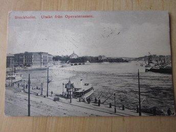 Operaterassen 1911 skrivet plundrat lilla formatet (H9) - Stockholm - Operaterassen 1911 skrivet plundrat lilla formatet (H9) - Stockholm