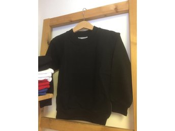 Sweatshirt/Collage - Black-svart,  storlek 110/120