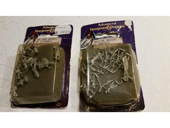 Advanced Dungeons and Dragons miniatures