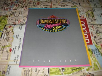 OOPPSS!!-UNIVERSAL STUDIOS HOLLYWOOD -25 th ANNIVERSARY 1964-1989 MINNESPROGRAM