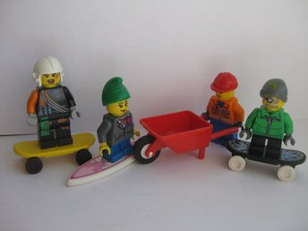 Lego Figurer Figur - 4st Blandade Figurer - LF7-21 - Uddevalla - Lego Figurer Figur - 4st Blandade Figurer - LF7-21 - Uddevalla