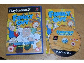 Family Guy PS2 Playstation 2 Komplett Fint Skick - Vännäs - Family Guy PS2 Playstation 2 Komplett Fint Skick - Vännäs