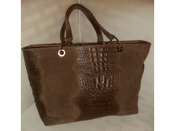 BORSE IN PELLE  -- GENUINE LEATHER SHOULDER BAG HANDBAG MADE IN ITALY