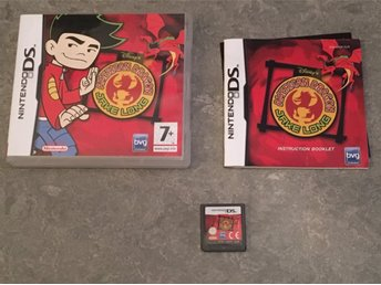 NINTENDO DS.  AMERICAN DRAGON JAKE LONG. DISNEYS