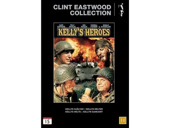 Clint Eastwood Collection Kelly´s Heroes 1970  DVD Action Komedi War