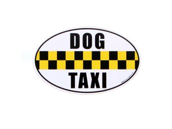 Dog Taxi Magnet
