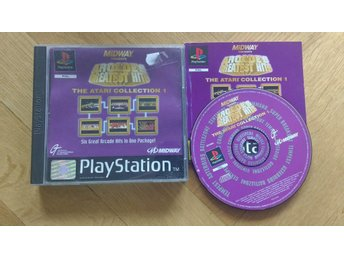PlayStation/PS1: Arcades Greatest Hits Atari Collection 1
