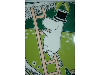 Ny Arabia Moomin wall tile 151 * 189 mm - Dekorationsträd Moominpappa