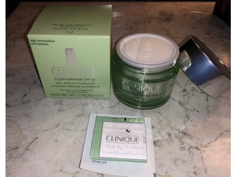 Clinique Super Defense spf20 Daily moisturizer Dry/Dry Combo 50ml OÖPPNAD