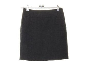 STOCKH LM, Pennkjol, Strl: 36, Plenty Tweed Skirt, Grå
