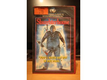 Slaughterhouse - EX Rental, Dutch, Vestron, VHS