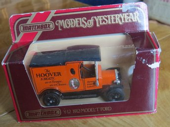Matchbox, Models of Yesteryear, Y-12 1912 Model T Ford