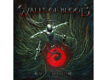 WALLS OF BLOOD Imperium CD Glen Drover Megadeth Judas Priest Queensryche