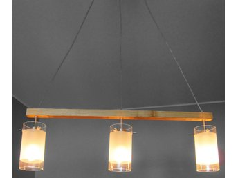 Fräscha Taklampa med tre glaskupor, takbelysning tak la.. (365550545) ᐈ SW-02