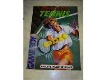 TOP RANKING TENNIS NINTENDO GAMEBOY PLANSCH *NYTT*