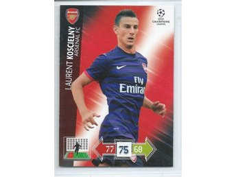 KOSCIELNY - ARSENAL - CHAMPIONS LEAGUE 2012-2013