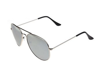 SKU00133)Men Outdoor Sports Polarized  Driving Eyewear Sunglasses -Silver
