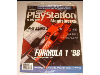 PLAYSTATION Mag  Nr11  HELT NY m CD  11/1998 FORMULA 1 98