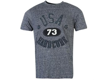 HARDCORE APP USA T-Shirt NAVY    XL