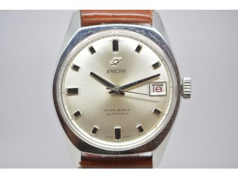 SUPER FIN VINTAGE UR ENICAR AUTOMATIC STAR JEWELS.